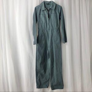 BDG/ dusty blue boiler suit